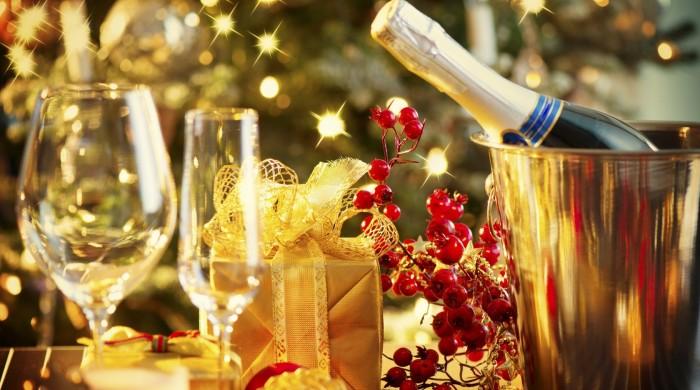 ホテルレストランのクリスマス