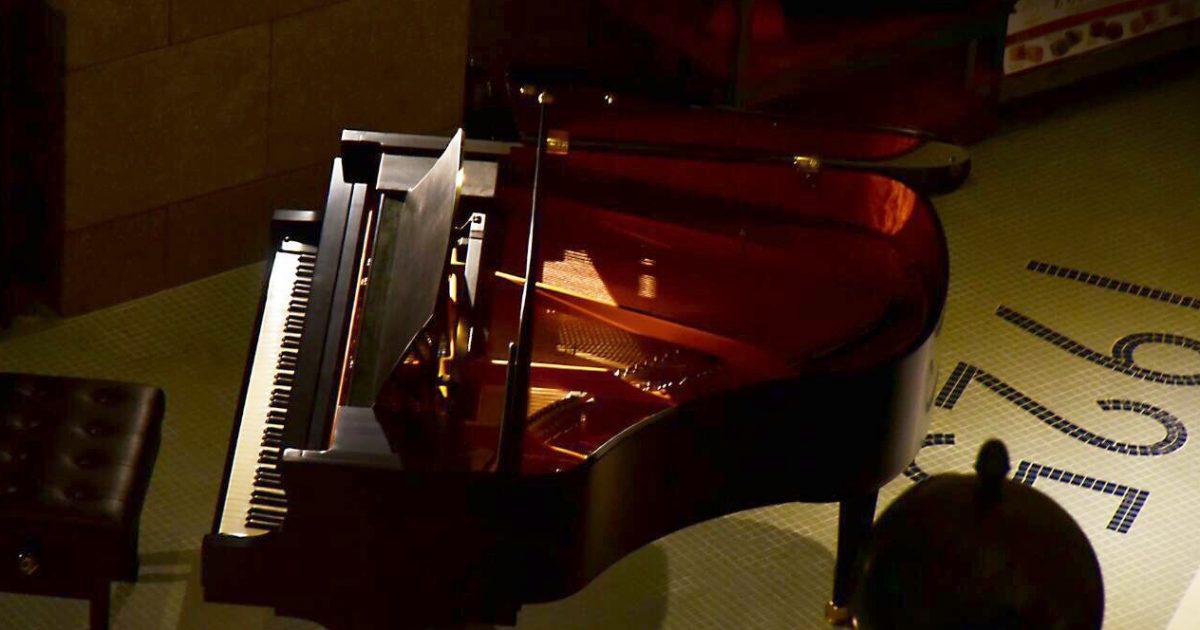 オーベルジュ豊岡1925のピアノ